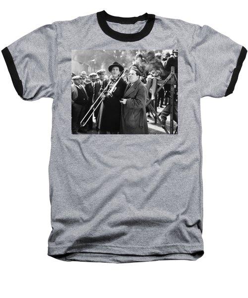 Silent Still: Musicians Baseball T-Shirt by Granger