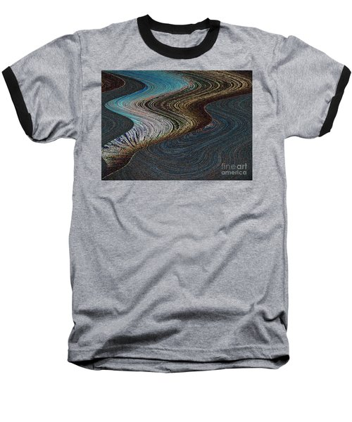Baseball T-Shirt featuring the photograph Silver Bay by Ausra Huntington nee Paulauskaite