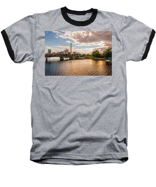 Baseball T-Shirt featuring the photograph Silver Lake by Tom Gort