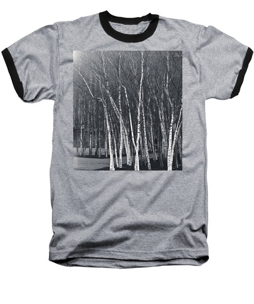 Silver Trees Baseball T-Shirt