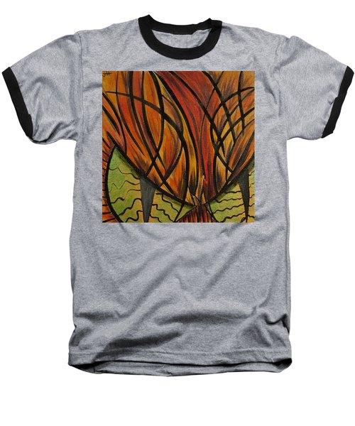 Sinister Feline Baseball T-Shirt