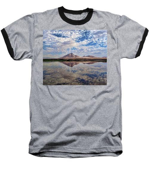 Baseball T-Shirt featuring the photograph Skies Illusion by Tammy Espino