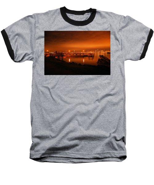Skies On Fire Baseball T-Shirt