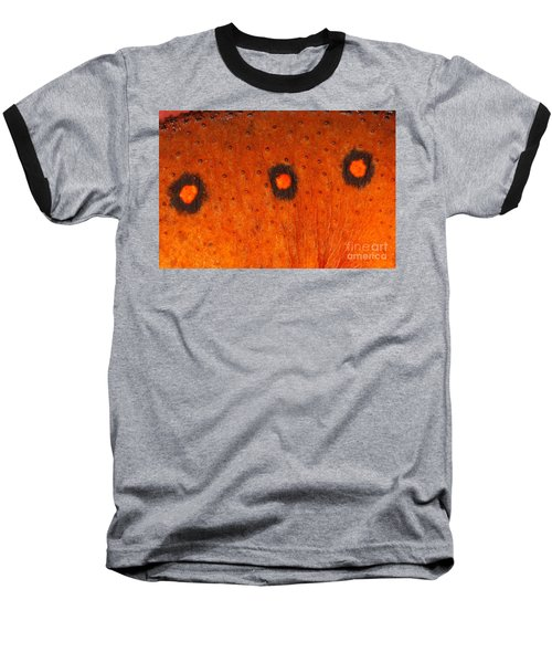 Skin Of Eastern Newt Baseball T-Shirt by Ted Kinsman