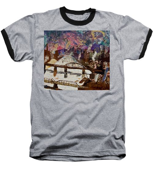 Sky Over The Allegheny Baseball T-Shirt