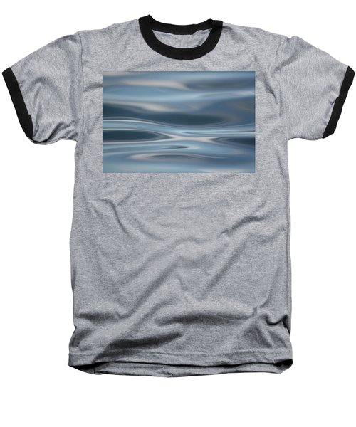 Sky Waves Baseball T-Shirt by Cathie Douglas