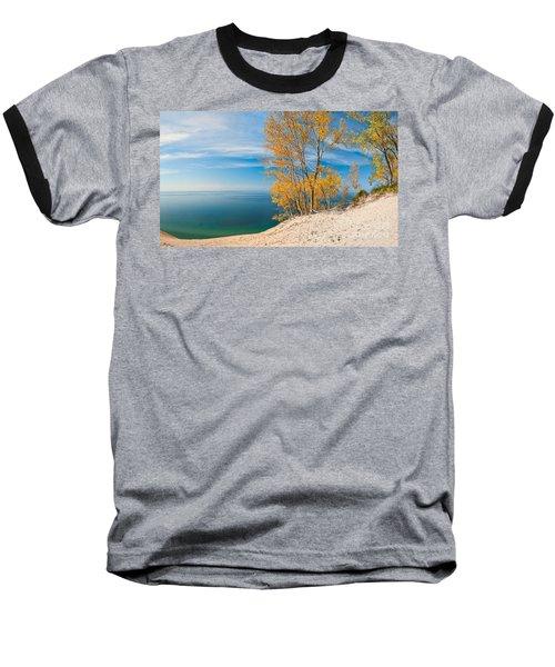 Sleeping Bear Dunes Vista 001 Baseball T-Shirt