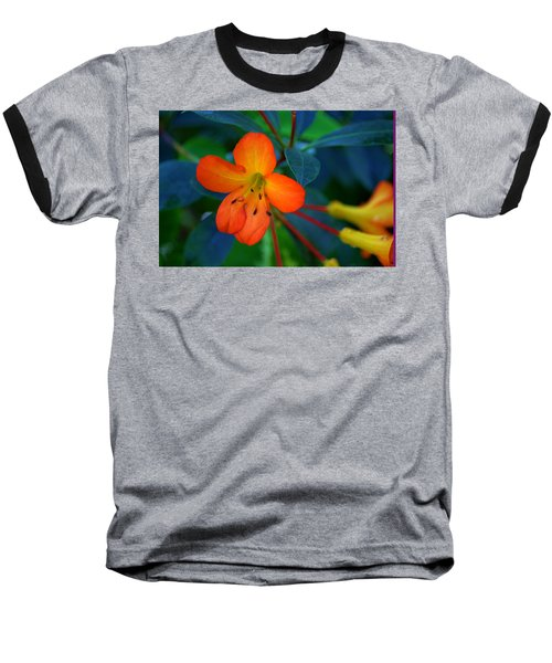 Baseball T-Shirt featuring the photograph Small Orange Flower by Tikvah's Hope