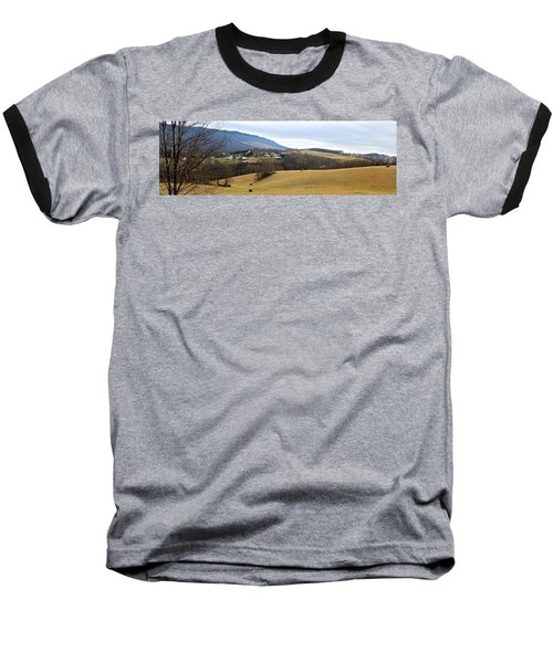 Baseball T-Shirt featuring the photograph Small Town by Kume Bryant