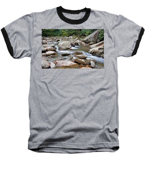 Smoky Mountain Streams Baseball T-Shirt