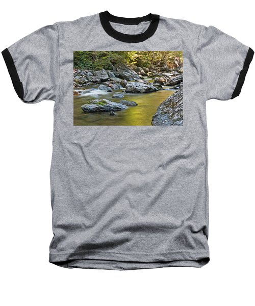 Smoky Mountain Streams II Baseball T-Shirt