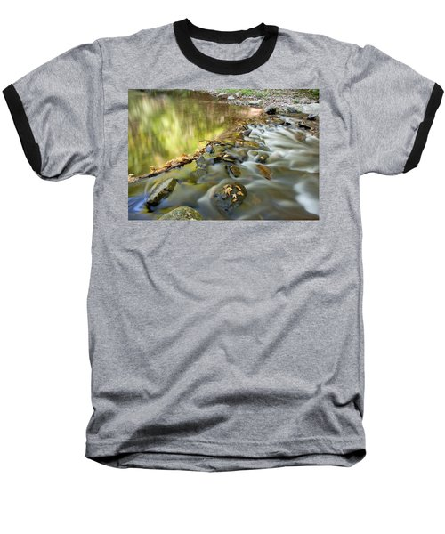 Smoky Mountain Streams Iv Baseball T-Shirt