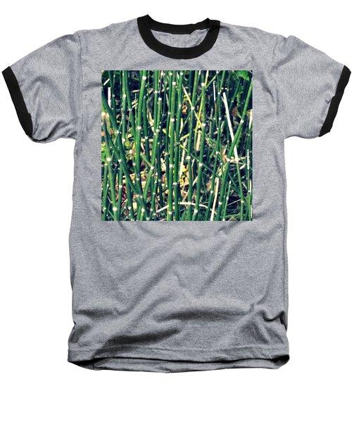 Snake Grass On The Beach Baseball T-Shirt