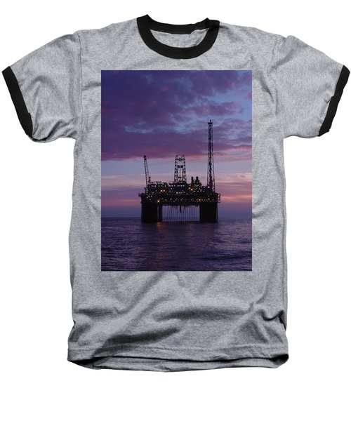 Snorre At Dusk Baseball T-Shirt