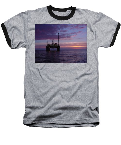 Snorre Sunset Baseball T-Shirt