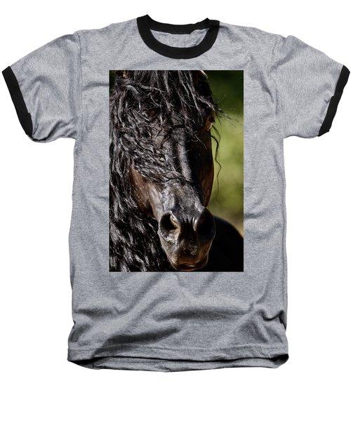 Snorting Good Looks Baseball T-Shirt