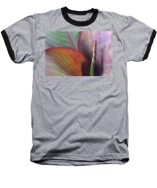 Soft Focus Petal Baseball T-Shirt