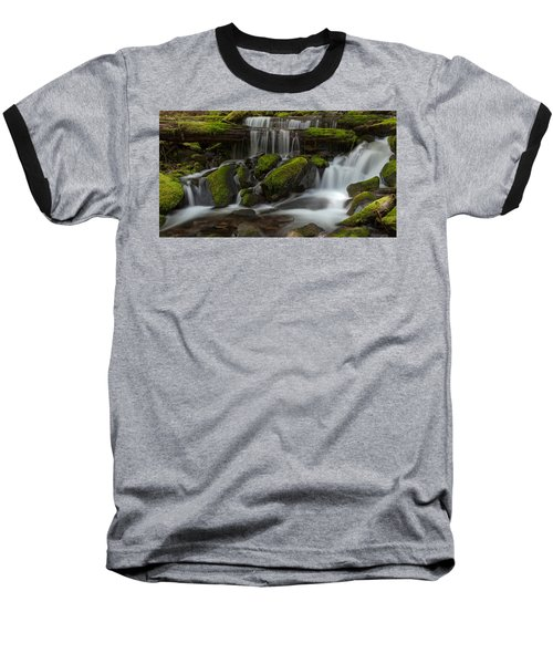 Sol Duc Stream Baseball T-Shirt by Mike Reid