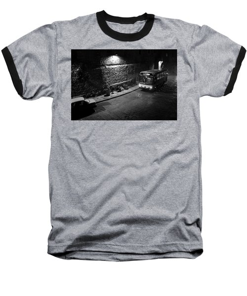 Baseball T-Shirt featuring the photograph Solitary Wait by Lynn Palmer