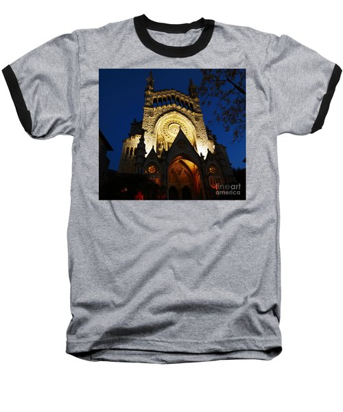 Soller Cathedral Baseball T-Shirt