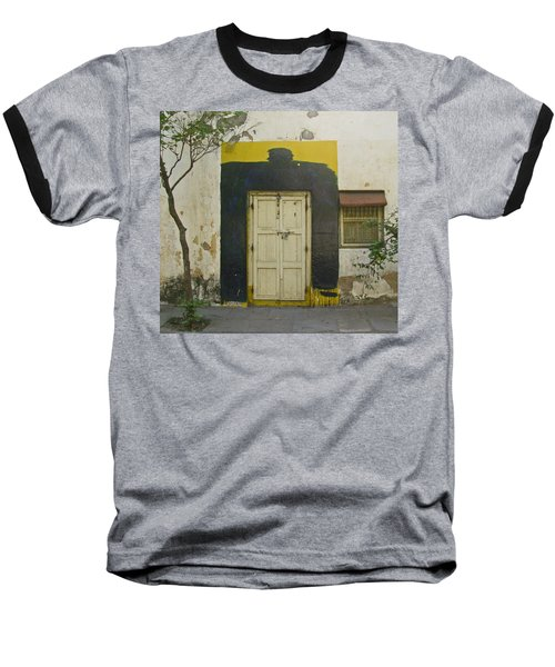 Baseball T-Shirt featuring the photograph Somebody's Door by David Pantuso