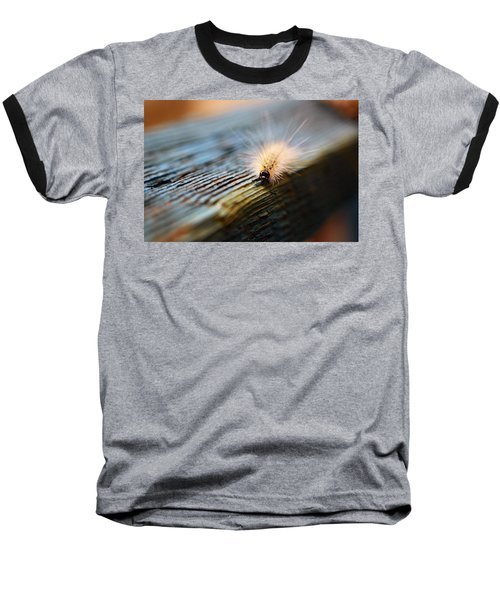 Something Wicked This Way Comes Baseball T-Shirt by Lori Tambakis