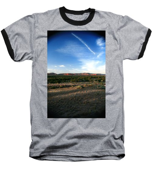 Baseball T-Shirt featuring the photograph Somewhere Off The Interstate In New Mexico by Lon Casler Bixby