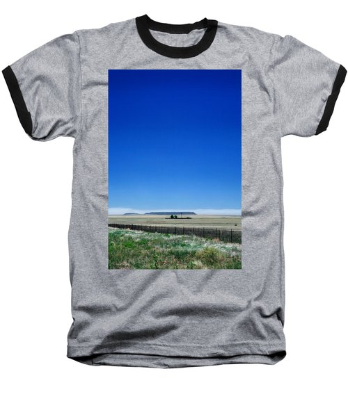 Baseball T-Shirt featuring the photograph Somewhere On Hwy 285 Number One by Lon Casler Bixby