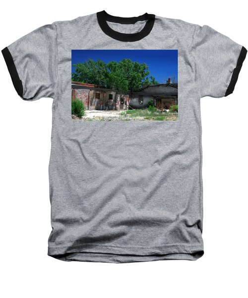 Baseball T-Shirt featuring the photograph Somewhere On Hwy 285 Number Three by Lon Casler Bixby