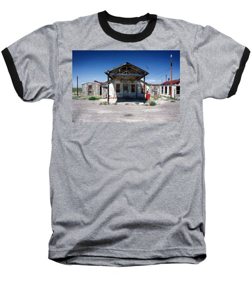 Baseball T-Shirt featuring the photograph Somewhere On The Old Pecos Highway Number 4 by Lon Casler Bixby
