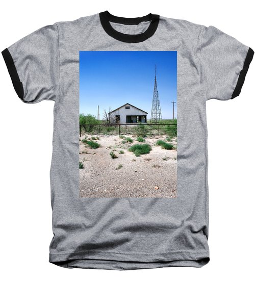 Baseball T-Shirt featuring the photograph Somewhere On The Old Pecos Highway Number 5 by Lon Casler Bixby