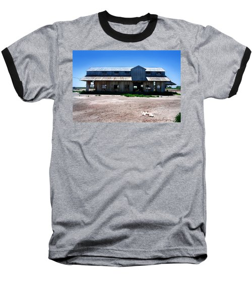 Baseball T-Shirt featuring the photograph Somewhere On The Old Pecos Highway Number 6 by Lon Casler Bixby