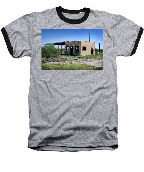 Baseball T-Shirt featuring the photograph Somewhere On The Old Pecos Highway Number 7 by Lon Casler Bixby