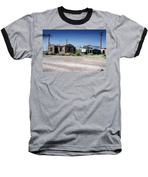 Baseball T-Shirt featuring the photograph Somewhere On The Old Pecos Highway Number 8 by Lon Casler Bixby