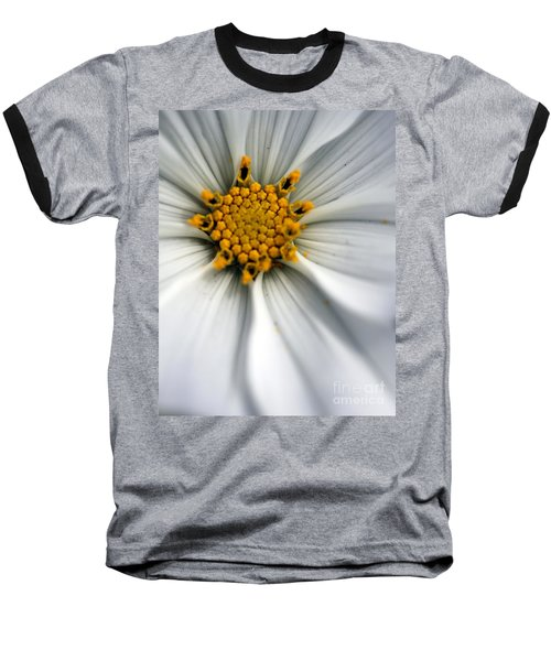 Baseball T-Shirt featuring the photograph Sonata Cosmos White by Henrik Lehnerer
