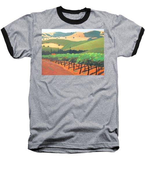 Sonoma Vinyard Baseball T-Shirt by Gary Coleman