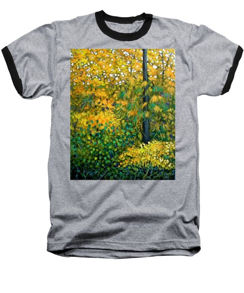 Southern Woods Baseball T-Shirt by Jeanette Jarmon
