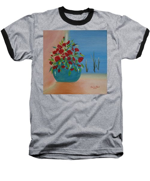 Baseball T-Shirt featuring the painting Southwestern 1 by Judith Rhue