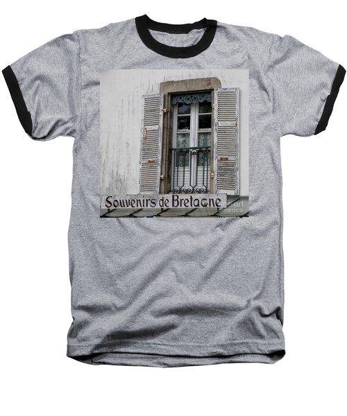 Souvenirs De Bretagne Baseball T-Shirt by Lainie Wrightson