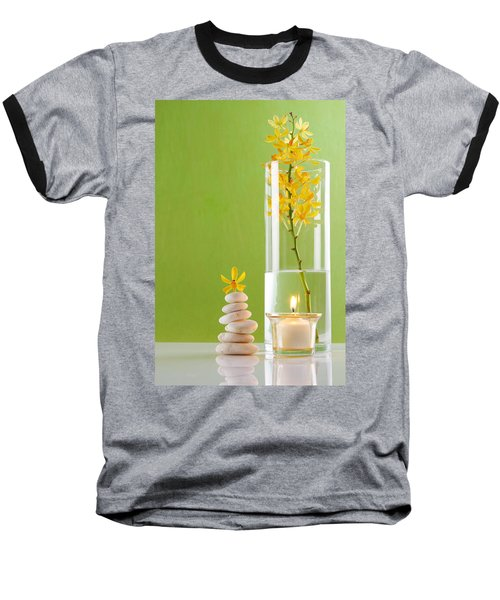 Spa Concepts With Green Background Baseball T-Shirt