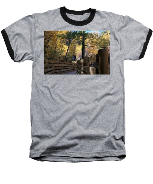 Spearfish Canyon Walkway Baseball T-Shirt