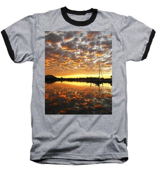 Spectacular Mazatlan Sunset Baseball T-Shirt