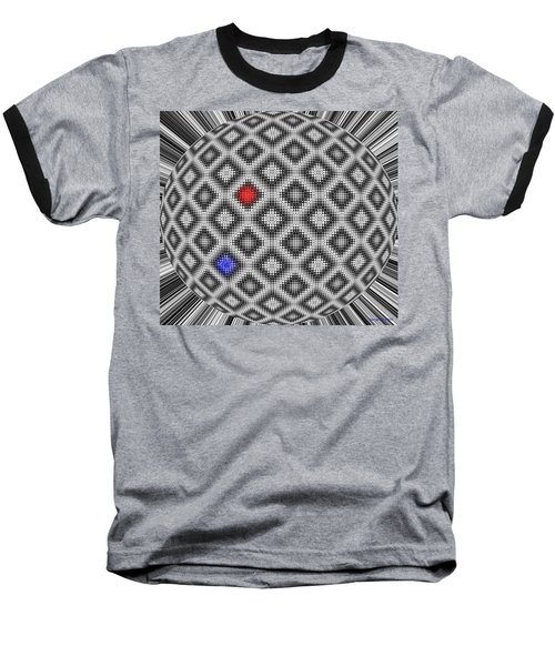 Baseball T-Shirt featuring the digital art Sphere Number 10 by George Pedro