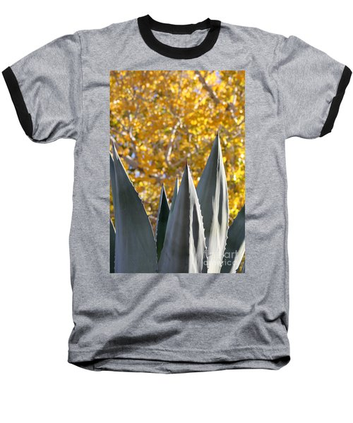 Spikes And Leaves Baseball T-Shirt