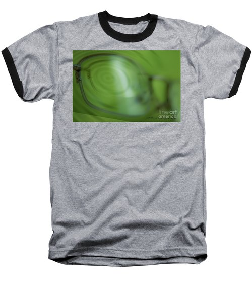 Baseball T-Shirt featuring the photograph Spinner Vision by Vicki Ferrari Photography