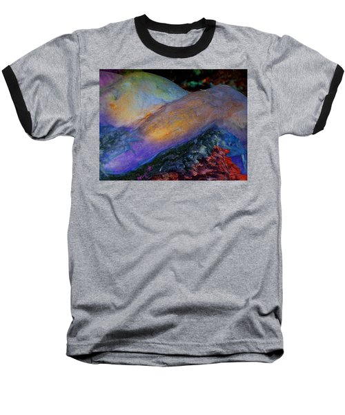 Baseball T-Shirt featuring the digital art Spirit's Call by Richard Laeton
