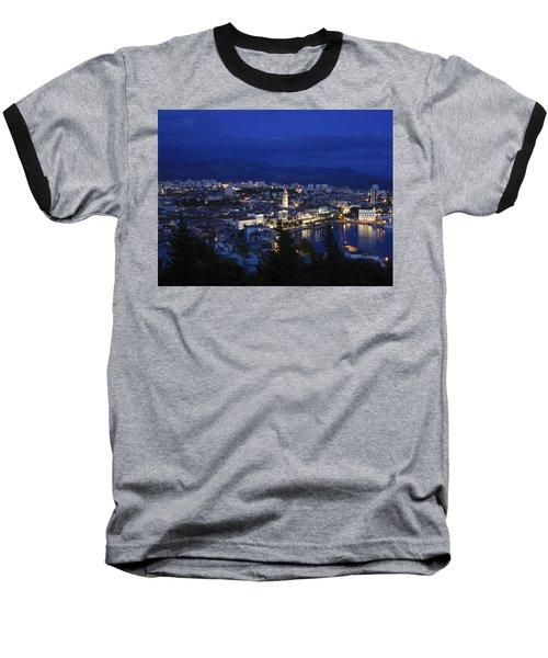 Baseball T-Shirt featuring the photograph Split Croatia by David Gleeson