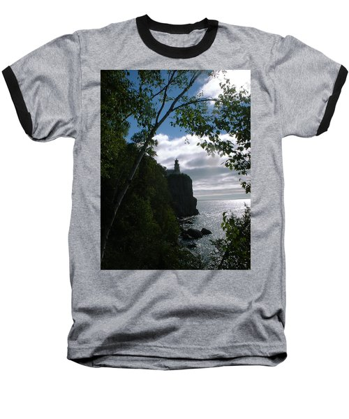 Baseball T-Shirt featuring the photograph Split Rock II by Bonfire Photography