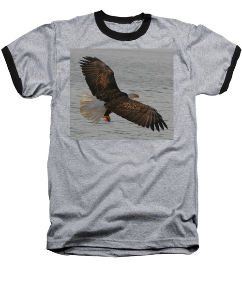 Spread Eagle Baseball T-Shirt by Kym Backland