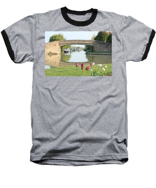 Spring On The Oxford Canal Baseball T-Shirt